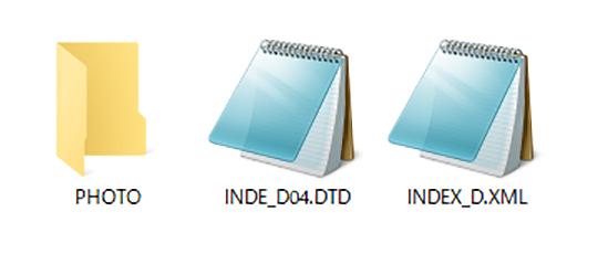 電子納品出力ファイル