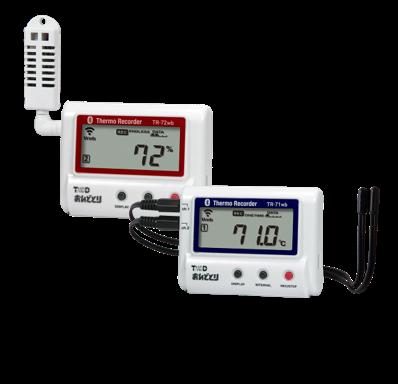 T&D TR-7wfシリーズ 温湿度計おんどとり